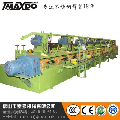 Basic square tube polishing machine